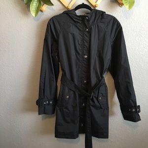 Steve Madden Black Trench Coat